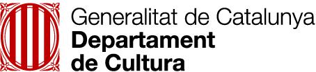 logo Generalitat de Catalunya Departament de Cultura